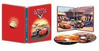 New Sealed Disney's Cars Steelbook 4K Ultra HD + Blu-ray + Digital Code