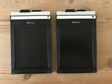 FIDELITY Elite 4x5 Cut Film Holders DD Good condition x2