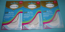 BRAND NEW (3) Amope Gel Activ Invisible Gel Heel Cushions Ideal For All Shoes