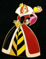 Disney Shopping Halloween JESSICA Rabbit Dressed as QUEEN HEARTS Alice LE300 Pin