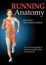 Running Anatomy by Joseph Puleo and Patrick Milroy (2009, Paperback)