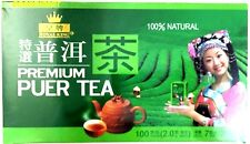 Royal King Premium Pu er (puer) Tea  (100 Tea bags ) 100% Natural