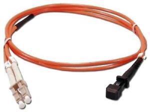 3m MTRJ (female) - LC Duplex 50/125um/1.6mm OM2 Multimode Patch Cord