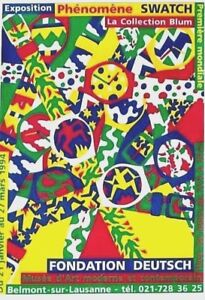 Original vintage poster SWATCH SWISS WATCH EXPO 1994