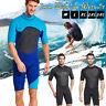 3MM Mens Neoprene Full Body Wetsuit Surf Steamer Swim Shorty Wet Suit Kayak Dive