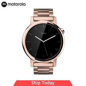 Motorola Moto 360 -2nd Gen. 42mm, Rose Gold with Rose Gold Metal, Womens