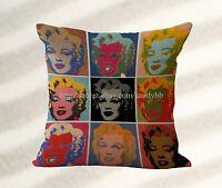 cheap pillow covers cheap outdoor throw pillows Marilyn Monroe cushion cover