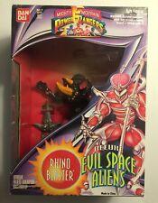 Rhino Blaster, Deluxe Evil Space Aliens, Mighty Morphin Power Rangers, Bandai
