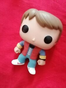 Marty McFly Vinyl Toy Funko Pop 61 Back to the Future Collectible