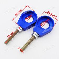 15mm Blue Chain Adjuster Tensioner For Chinese CRF50 KLX110 SSR Pit Dirt Bike