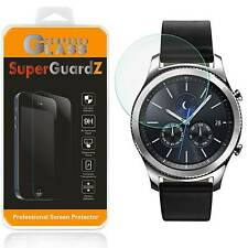 SuperGuardZ® Tempered Glass Screen Protector Shield For Samsung Gear S3 Frontier