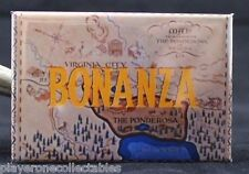 "Bonanza 2"" x 3"" Fridge / Locker Magnet. Lorne Green Michael Landon"