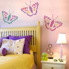 Vanessa Butterfly Wall Art Stencil-  Size SMALL  - By Cutting Edge Stencils