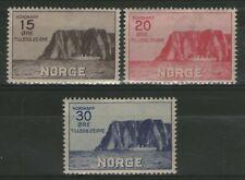 NORVEGE:  n°151/153 *  (cote 130€)