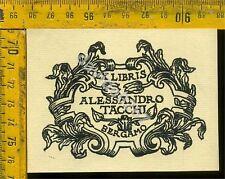 Ex Libris Originale a 590 Alessandro Tacchi Bergamo