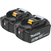 Makita 2Pk 18V Lxt 5Ah Battery BL1850B-2 Unit: BOX