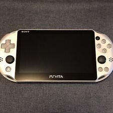 Sony PlayStation Vita PCH-2000 Silver console USED F/W Ver.3.63 PS Vita [V0088]
