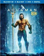 New! Aquaman (3D BluRay / Blu-Ray / DVD, 2019)