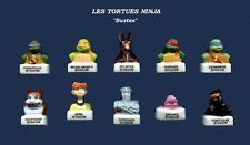 SERIE COMPLETE DE FEVES TORTUES NINJA BUSTES        2016