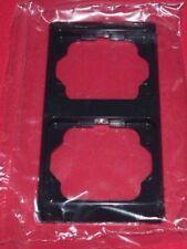 BUSCH-JAEGER alpha exclusive obsidian 2-fach Rahmen senkrecht 1732KA-255 (R17)