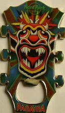 PANAMA,Hard Rock Cafe,Bottle Opener Magnet Guitar Head #2