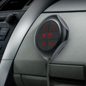 Car Bluetooth Transmitter Fm Mp3 Audio LED Display Auto Easy Button Player Radio