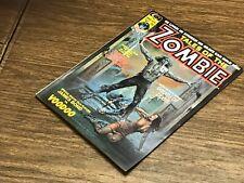 Tales Of The Zombie #4 / VF Condition / 1974 / Boris Vallejo Cover / Magazine