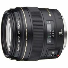 Near Mint! Canon EF 100mm f/2 USM - 1 year warranty