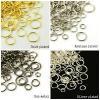 Jump rings for jewellery card making crafts good quality includes strong rings