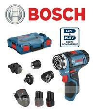 Bosch GSR 12V-15 FC FlexiClick Drill Driver Set 12V 2 x 2.0Ah batteries