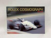 GENUINE Rolex Daytona Booklet 1995' English box case watch 0127220