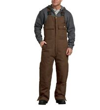 Dickies FLEX Sanded Duck Insulated Bib Overalls, Timber Brown TB576
