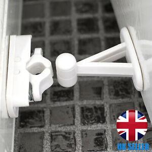 QUALITY Auto White Door Holder Bedroom/Bathroom/Living Room/Office Stop Wedge
