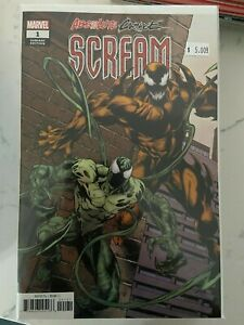 Absolute Carnage Scream 1 - 3 Mark Bagley Connecting Variant Covers Set NM
