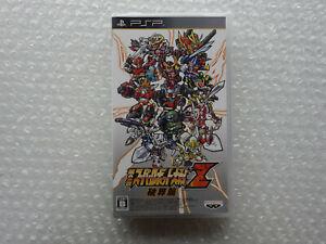 Brand New Dai 2 Ji Super Robot Taisen Z Hakai Hen Sony PSP Japan