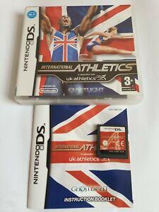 International Athletics Nintendo DS Game Complete FREE UK POSTAGE