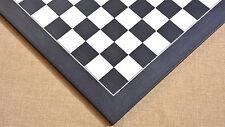 """Wooden Deluxe Black Anigre Maple Matte Finish Chess Board 24"""" - 60 mm"""