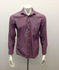 Vancl Camicia Cotone Sz 39 Long Sleeve Men's Button Down No Iron Shirt