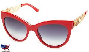 NEW D&G Dolce & Gabbana DG4211 588/8G RED /GRAY GRADIENT LENS SUNGLASSES Italy