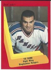TIE DOMI 1990-91 ProCards #22 NM-MT Binghampton N.Y. Rangers Toronto Maple Leafs