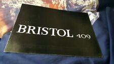 Bristol 409 Sales Brochure - ENGLISH LANG