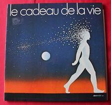 Le cadeau de la vie 1979, claude françois brassens F gall sheila, LP - 33 Tours