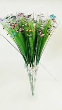 Artificial Flowers Butterfly Assorted Flowers Stems Home Decor Weddings Parties