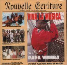 Viva La Musica & Mzee Papa Wemba(CD Album)Nouvelle Ecriture-Sonodisc-CD-New