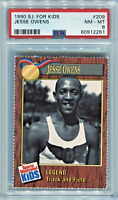 *JESSE OWENS* 1990 Sports Illustrated (SI) For Kids PSA 8 ~Extremely Rare~
