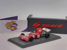 """Spark S7166 # March 721X Race of Champions 1972 """" Ronnie Peterson """" 1:43 NEU"""
