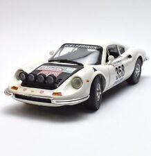 Anson rareza Ferrari Dino 246 GT auto deportivo en blanco lacados, OVP, 1:18, k021