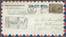 1930 CANADA FIRST FLIGHT COVER - REGINA TO BATTLEFORD - CACHETED!