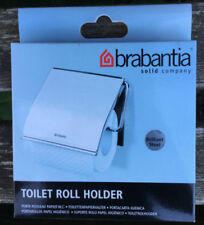Porte-papiers de toilette gris en chrome