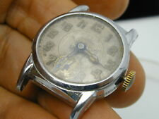 VINTAGE 1920S BEDFORD WATCH COMPANY SWISS MANS WRIST WATCH